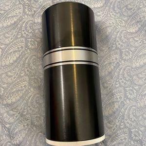 Metal Cigar Humidor Jar Travel 7 Tube Box Humidor